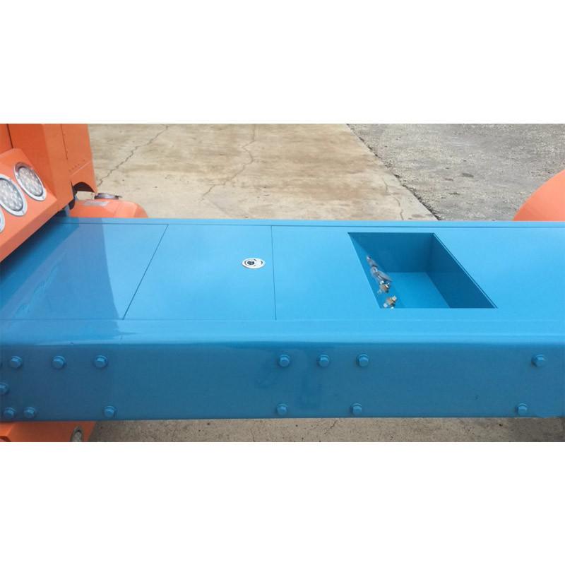 Custom On Frame Aluminum Sectional Deck Plate