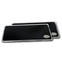 Plain Peterbilt Lifetime Step Plates 16""