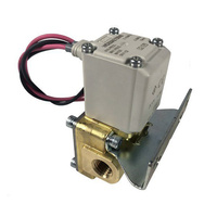 "SMC 1/4"" Electric Air Valve 217 PSI"