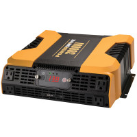 PowerDrive 3000 Watt Power Inverter 4 AC 2 USB Ports Bluetooth App On