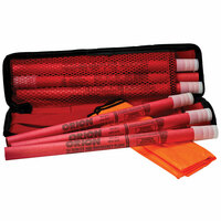 Orion 6 Piece Emergency Flare Roadside Kit Displayed