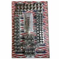 Lifetime Fat Boy Complete Nut Cover Kit