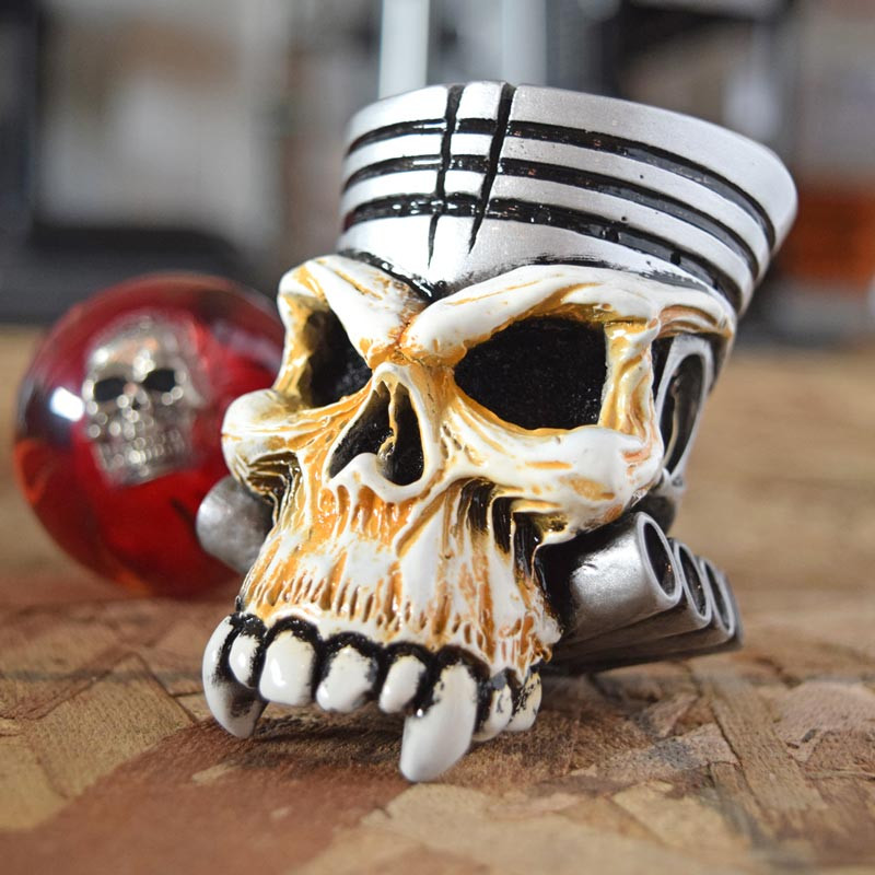 Trailer Ac Unit >> Piston Skull Shift Knob Kit - Raney's Truck Parts