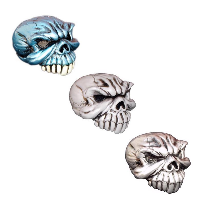 Gomez Skull Pewter Shift Knob Kit