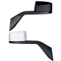 Volvo VNL Chrome Hood Mirror Assembly Chrome And Black Both Side