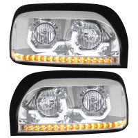 Freightliner Century Project Headlight - Both Units