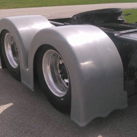 """WIDOWMAKER"" Double Hump Rear Fender"