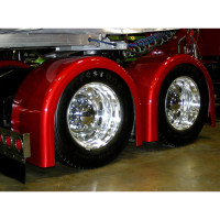 Single Axle Rear Fender Set