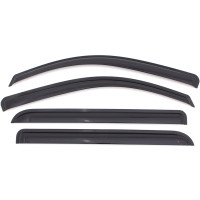 Chevrolet Colorado Crew Cab AVS Smoke Ventvisor 4 Piece