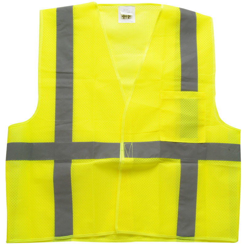 West Chester Holdings Inc High Visibility Safety Vest Front