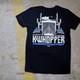 KWhopper Hammer Lane Trucker T-Shirt Layed Out