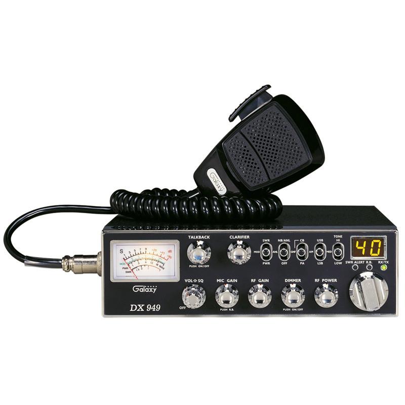 Galaxy DX-949 40 Channel AM/SSB CB Radio
