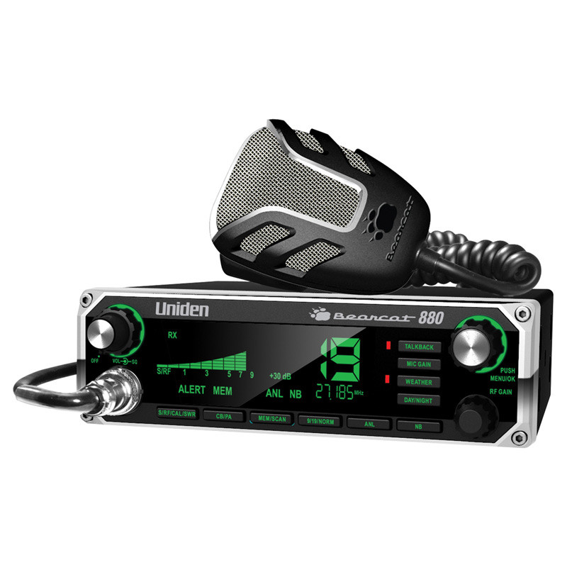 Uniden Bearcat 880 CB Radio With NOAA Weather