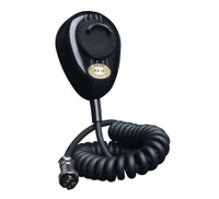 RoadKing 4-Pin Dynamic Noise Cancelling Black CB Microphone