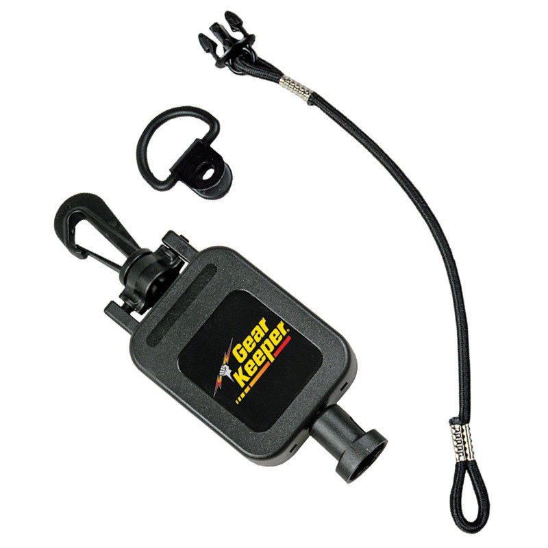 GearKeeper Retractable CB Mic Holder With Snap Clip Mount System  28""