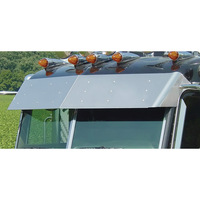 "Peterbilt Ultracab 14.5"" Drop Visor '05+ By Roadworks"