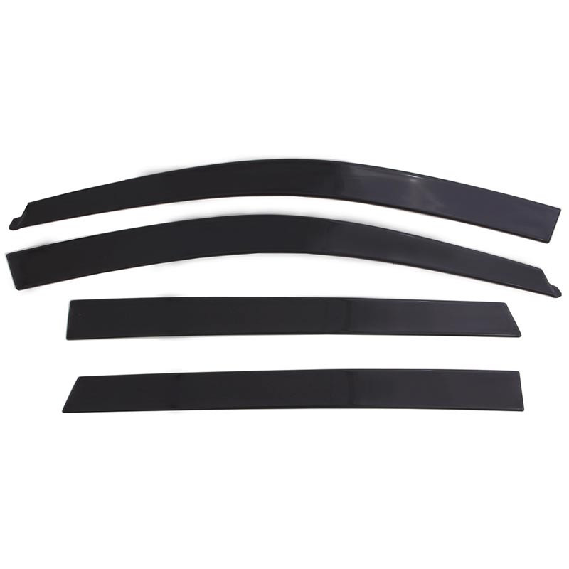 Ford F-150 Supercrew AVS Smoke Low-Profile Ventvisor 4 Piece