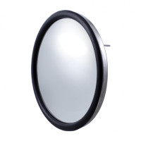 "8 1/2"" Chrome Convex Mirror"
