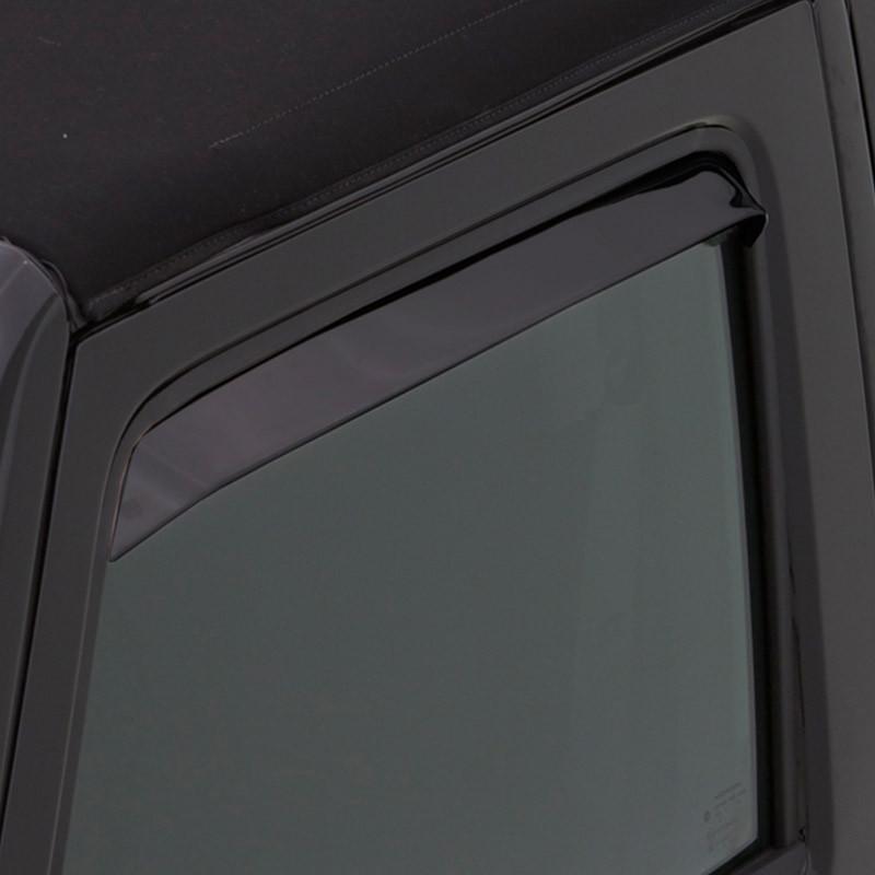 Nissan Pickup AVS Black Ventshade 2 Piece