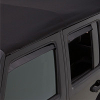 Dodge Dakota Quad Cab AVS Black Ventshade 4 Piece