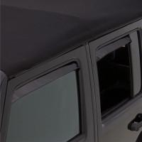 Jeep Wrangler AVS Black Ventshade 4 Piece
