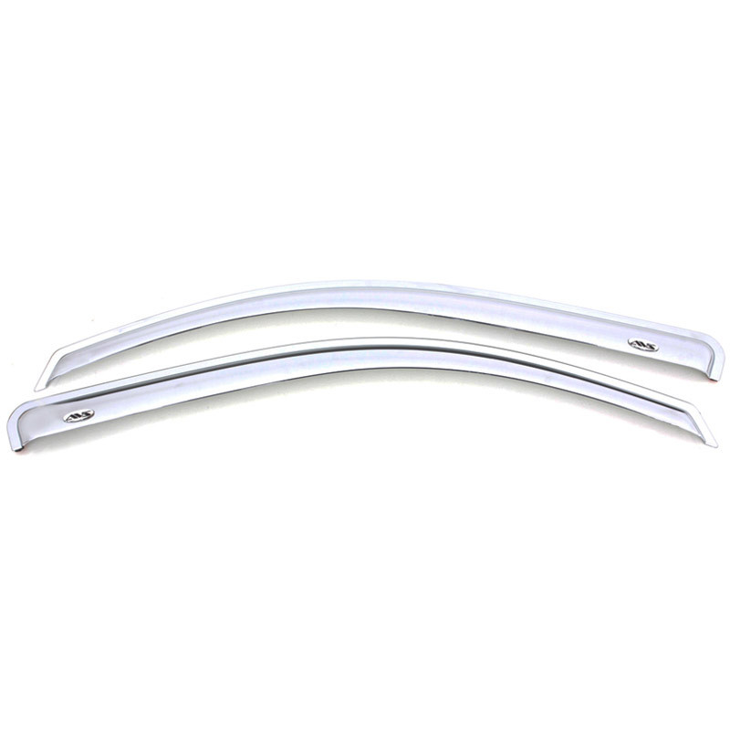 Dodge Ram 1500 2500 3500 AVS Chrome Ventvisor 2 Piece