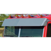 "Peterbilt Flat Top 13.5"" Blind Mount Drop Visor"