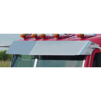 "Peterbilt Flat Top 11"" Blind Mount Drop Visor"
