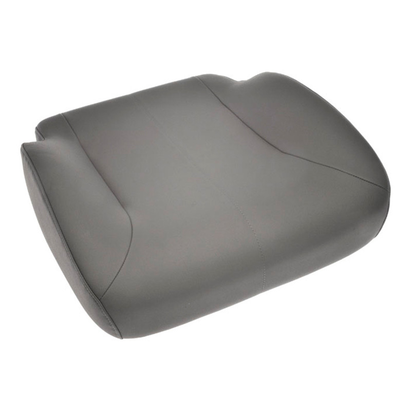 National Vinyl Replacement Seat Cushion Light Grey