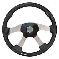 Wildwood Black Steering Wheel