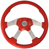 Wildwood Red Steering Wheel
