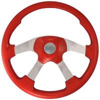 Wildwood Red Steering Wheel