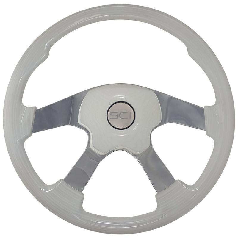 Wildwood Ivory Steering Wheel