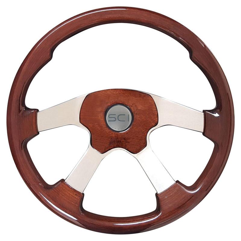 Wildwood Mahogany Steering Wheel