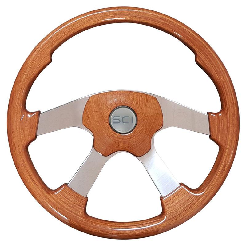 Wildwood Light Mahogany Steering Wheel