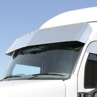 Peterbilt 579 Drop Visor With 10 Mini LEDs