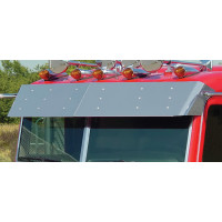 "Peterbilt Flat Top 13.5"" Drop Visor 1988-2005"
