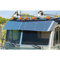 Peterbilt Flat Top Monster Drop Bow-Tie Visor