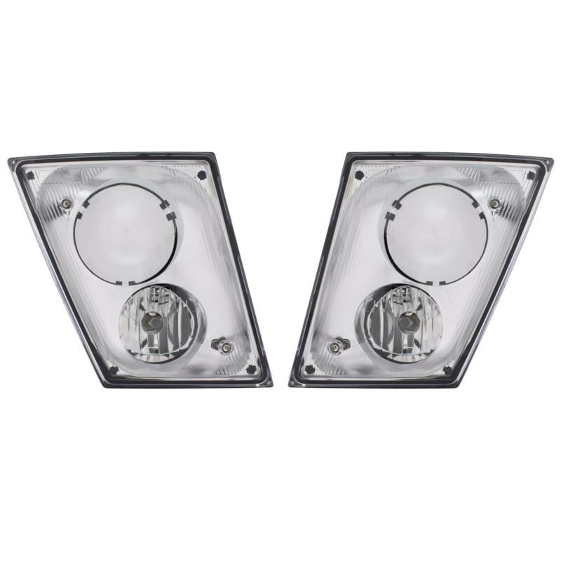 Chrome Volvo VNL Fog Light Only - Both Sides