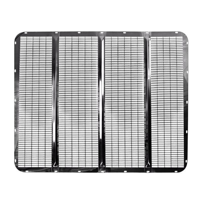 Grill Guards For 379 Peterbilt S : Peterbilt short hood stainless steel grill insert