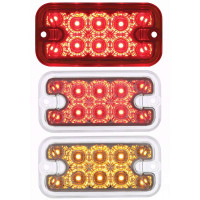 10 LED Reflector Clearance Marker Light With Dual Function