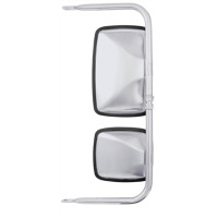 Non-Motorized West Coast Lighted Mirror 97846 - Front View