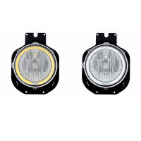 Freightliner Century Headlight with Amber LED Halo Ring Multi Option