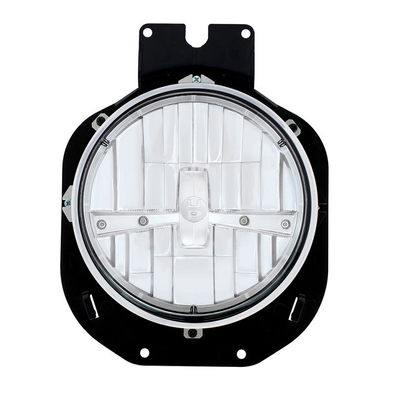 Freightliner Century Chrome 5 LED Headlight Front View