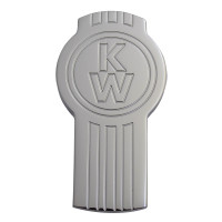 Engraved Kenworth Logo Shaped Tractor Trailer Air Brake Knob