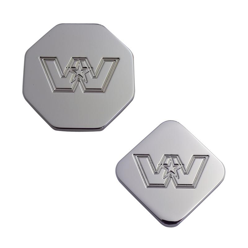 Engraved Western Star Logo Tractor Trailer Air Brake Knob