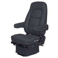 Bostrom LowPro Wide Ride Core Seat With Dual Arm Rest & Smart Switch