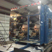 Enclosed 4 Door Aluminum Fleet Rack By Brunner Fabrication