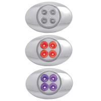 Millennium M3 Style Dual Revolution Red & Purple LED Marker Light