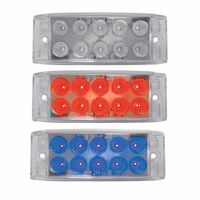 Dual Revolution Trailer Marker Light Red & Blue LED